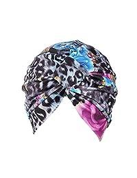 Muslim Stretch Cotton Retro Floral Turban Hat Head Scarf Wrap Cap by WOCACHI