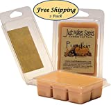 2 Pack - Pumpkin Spice Scented Wax Melts by Just Makes Scents