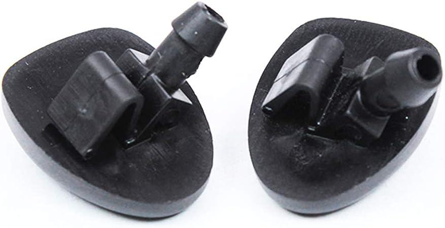 Xukey 2pcs Boquillas para limpiaparabrisas delanteros para C2 C5 407 206 206+