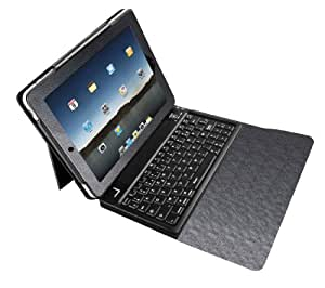 Urban Factory SKI36UF - Funda con teclado Bluetooth para iPad, color negro