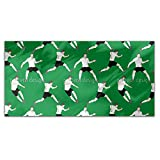 On The Soccer Field Rectangle Tablecloth: Large Dining Room Kitchen Woven Polyester Custom Print