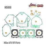 Zereff Parts & Accessories 5 Hisun ATV Parts Full Set Gasket Hs400 Hs500 Hs600 Hs700 Hs800 ATV Utv Gokart Quad Spare Engine Parts Quality Nihao Motor