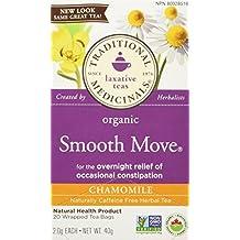 Traditional Medicinals Organic Smooth Move Chamomile, 20 tea bags
