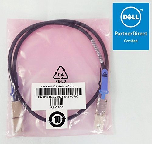 Genuine Dell PowerVault MD1200 External Network SAS SCSI Cable 171C5 - Dell Scsi