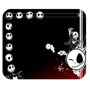 Personalized Jack Skeleton Design Rectangle Black Mouse Pad Mat by mcsharks