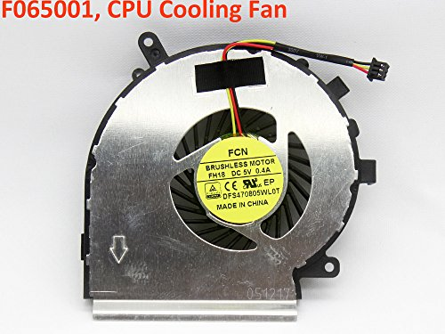 iiFix New Replacement CPU Cooling Fan For CPU GPU for MSI MS-16J3 MS16J3 GP62 CR62 CX62 2QD 2QE 2M Leopard Pro Series Inside Assembly (Cooling Series Fan Assembly)