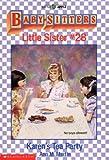Baby-Sitters Little Sister #28: Karen's Tea Party