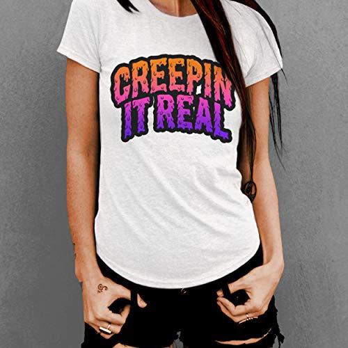 Creepy Halloween Font - Creepin It Real, Halloween T-Shirt, Monster