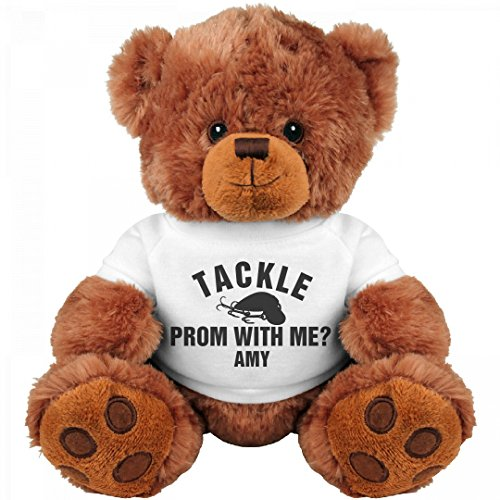 Tackle Prom With Me Amy  Medium Teddy Bear Stuffed Animal