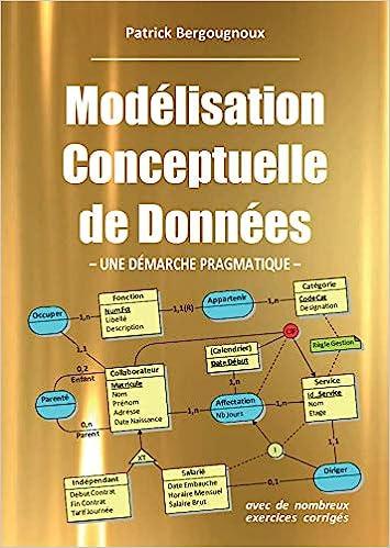 couverture du livre Modélisation Conceptuelle de Données