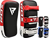Authentic RDX Thai Kick Boxing Strike Curved Arm Pad MMA Focus Muay Punch Shield Mitt RD (SINGLE ITEM)