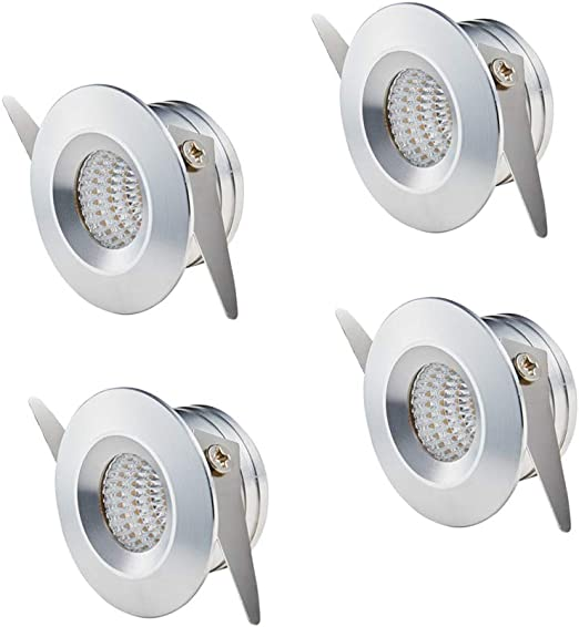 3000 k Lampada da soffitto a LED piccola a incasso colore luce: bianco caldo 3 W