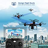 SANROCK Drones with Camera for Adults and