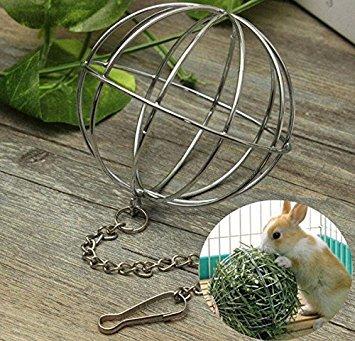 EXOH - Dispensador de comida para mascotas, hámster, rata, conejo, juguete