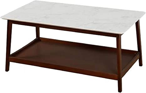 Marble Granite Top Coffee Table Faux West Line Marble Granite Top