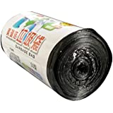 Black High Quality Environmentally Friendly Disposable Garbage Bag 50 * 60 Continuous Roll-Off Hotel Garbage Bag-Black