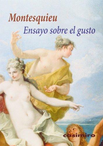 Descargar Libro Ensayo Sobre El Gusto ) Montesquieu