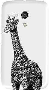 DailyObjects Ornate Giraffe Case For Motorola Moto G