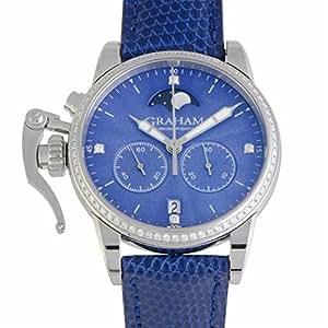 Graham Chronofighter quartz womens Watch 2CXCS.U01A (Certified Pre-owned)