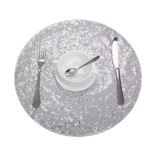 Eternal Beauty Sequin Placemats Set of 4, Double Sided 15