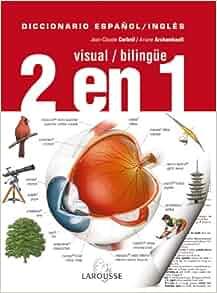 amazoncom diccionario visual bilingue 2 en 1 espanol