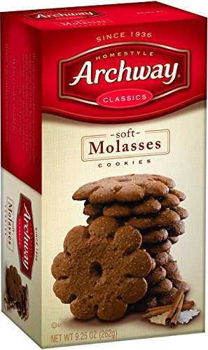 Archway Cookies, Soft Molasses, 9.5 Ounce (Pack of (Soft Chewy Cookie Recipes)