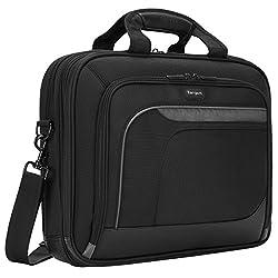 Targus Mobile Elite Checkpoint-friendly Laptop Bag For 15.4-inch Laptops, Black (Tbt045us)
