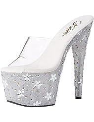 Pleaser STARBLOOM-701 womens Sandals