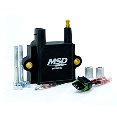 MSD 8232 Single Tower Coil: Automotive