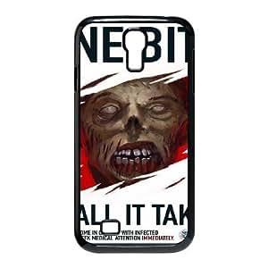 Jumphigh Zombies Samsung Galaxy S4 Cases Zombie Bite Design for Men, Samsung Galaxy S4 Cases for Teen Girls, {Black}