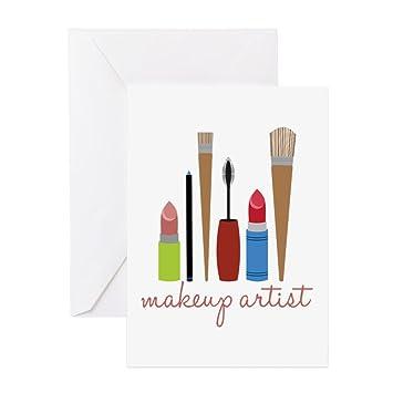 Amazon Cafepress Makeup Artist Tools Greeting Cards