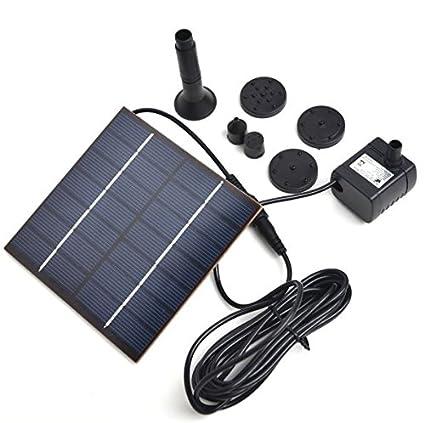 Amazon Com Cypress Shop Poertable Solar Water Pump Pannel Kit 1 2w