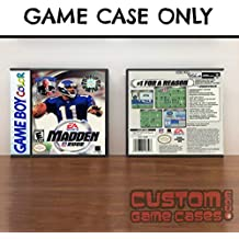 Gameboy Color Madden NFL 2002 - Case