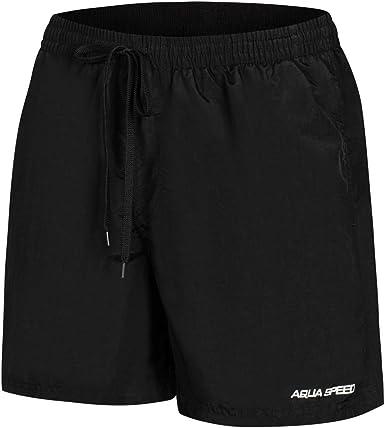 Aqua-Speed 5908217666802 Remy Swim - Bañador para Hombre, Talla S, Color Negro