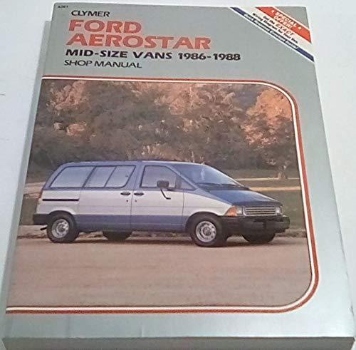 (Ford Aerostar: Mid-Size Vans 1986-1988 )
