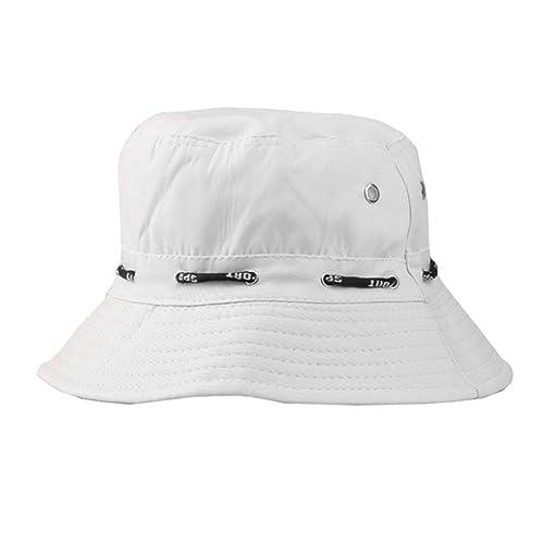 LUFA Summer Cotton Safari Hiking Bucket Hat fisherman Sun crushable Adjustable Cap 13 colors