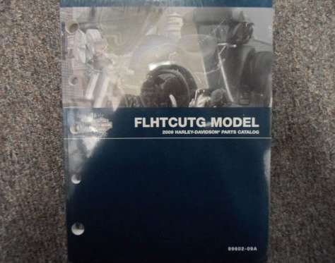 2009 Harley Davidson FLHTCUTG Parts Catalog Manual FACTORY OEM BOOK x ()
