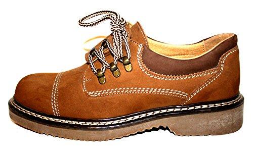 Master Plus , Chaussures de ville à lacets pour homme Marron Marron 41