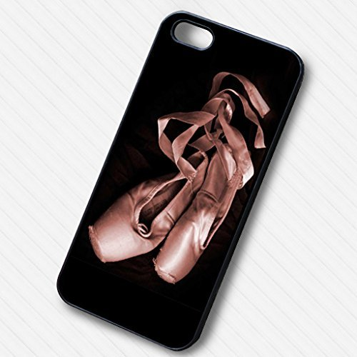 Ballerina shoe vintage pink for Cover Iphone 6 and Cover Iphone 6s Case E1G3SM