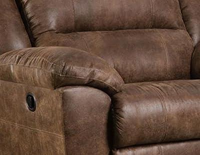 Simmons Upholstery Phoenix Mocha Cuddler Recliner