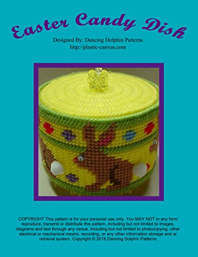 (Easter Candy Dish: Plastic Canvas Pattern)