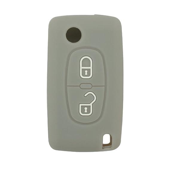 Amazon.com: SEGADEN - Carcasa de silicona para Peugeot ...