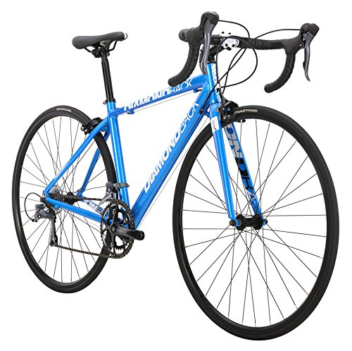 Diamondback Bicycles 2015 Podium 700c Complete Youth Road Bike, 46cm, Blue Diamondback