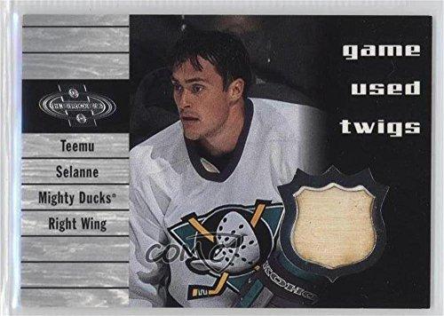Teemu Selanne (Hockey Card) 2000-01 Upper Deck Heroes - Game Used Twigs #T-TS