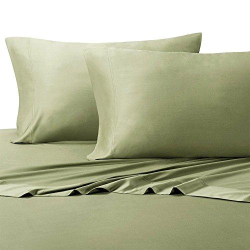 Royal Hotel King Sage Silky Soft sheets 100% Viscose from Bamboo Sheet - Silky Sage