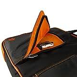 Water Resistant Nylon Orange Laptop