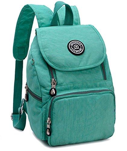 Bolsa de Casual Verde Estwell para Mini Mujer Mochila Viaje Impermeable Mochila Niñas Bolso 7zw7xq8P