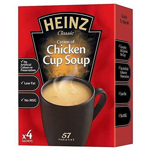 Heinz Chicken Cup Soup 4 x - Chicken Heinz