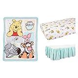 Winnie the Pooh 37900 Disney 3 Piece Crib Bedding Set