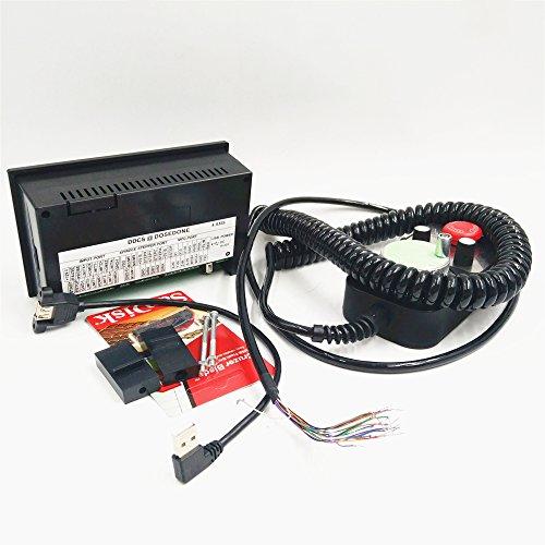 4 Axis Cnc Offline Controller Handwheel Mpg Kit 500khz G